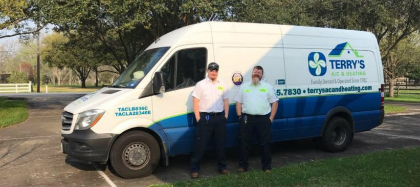 Kenny and Rob of Terry's A/C and Heating in Richmond, Texas