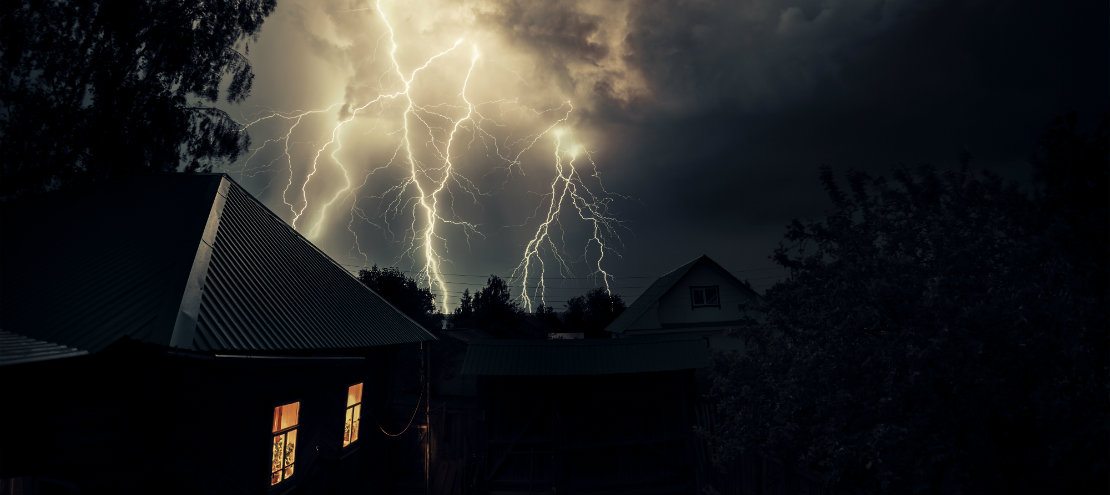 Thunderstorm affects HVAC Systems