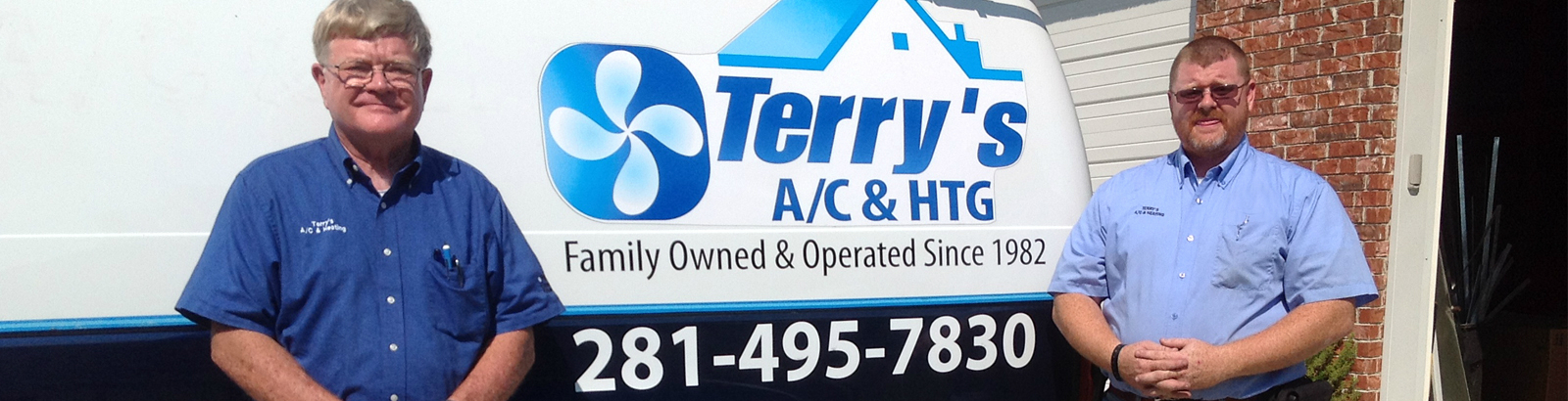 Why Choose Rex Terry and Rob Terry of Terry's A/C and Heating